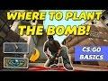 WHERE TO PLANT THE BOMB | De_dust2