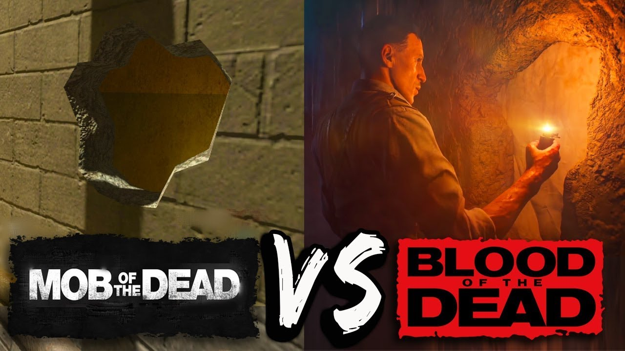 (SIDE BY SIDE) Comparison (Mob of The Dead VS. Blood of The Dead)