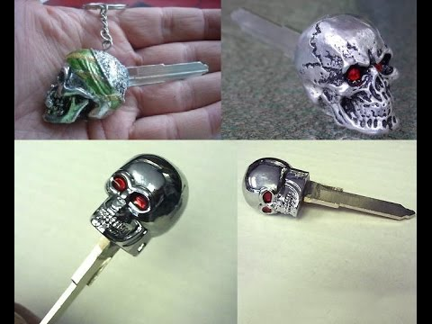Diy Skull Key For Your Motorbike In My Case A Suzuki Boulevard