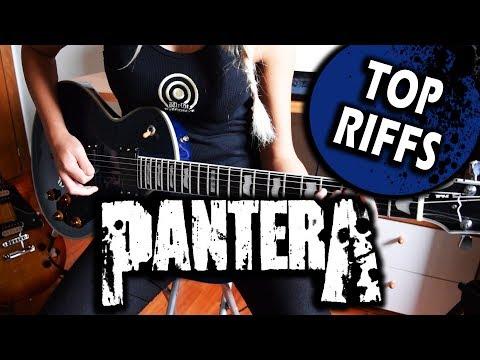 Pantera- Top Riffs Guitar Cover