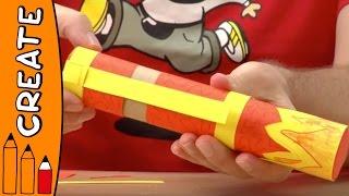 Craft Ideas For Kids - Firecracker | World Of Art | Øistein Kristiansen