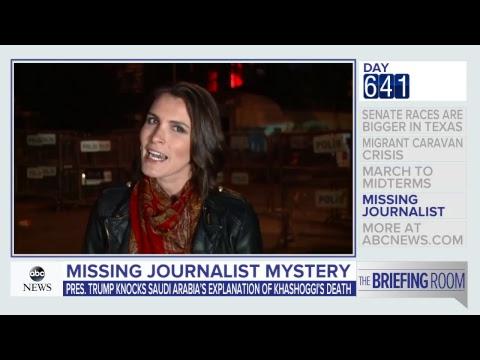 'The Briefing Rom': Migrant caravan, Texas senate race, Khashoggi investigation | ABC News