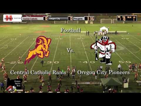 Central Catholic vs. Oregon City Football 10/13/2016