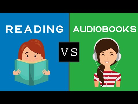 Is Listening To An Audiobook The Same As Reading ? | Audiobook Vs Reading