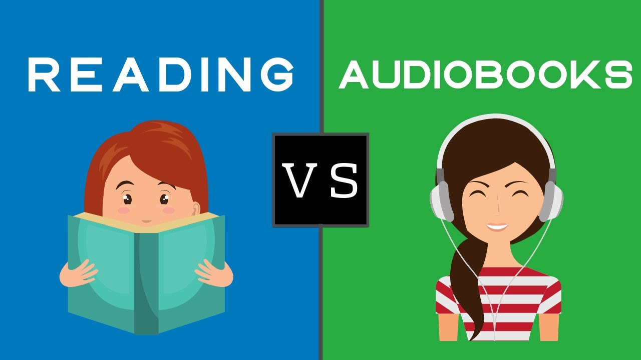 Is Listening To An Audiobook The Same As Reading Audiobook Vs Reading Youtube