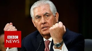 Rex Tillerson: What Trump's top diplomat really believes - BBC News