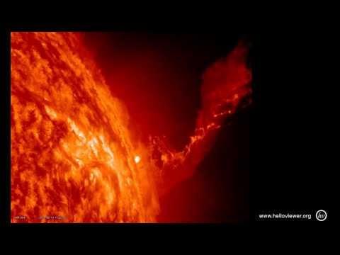 The Sun - Amazing Solar Dynamic Activities through Ray X Colours