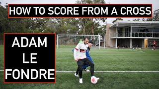 Advice for young players on scoring in the box with ADAM LE FONDRE | Joner Football