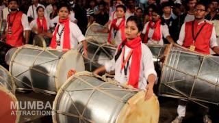 lai bhari dhol tasha pathak at umarkhadi cha raja patpujan 2016