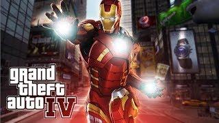 Iron Man Plays GTA 4