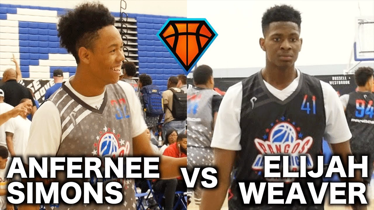UAA Teammates Elijah Weaver   Anfernee Simons Go HEAD-TO-HEAD at Pangos  All-American!! 816adf50a