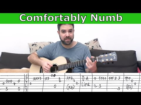 fingerstyle-tutorial:-comfortably-numb-[full-instrumental]---guitar-lesson-w/-tab