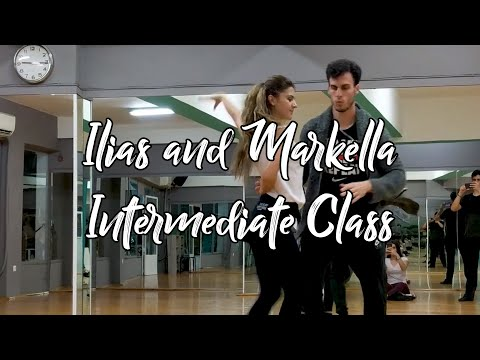 Ilias And Markella | Salsa On2 Intermediate Class | Stella Dance Art Athens