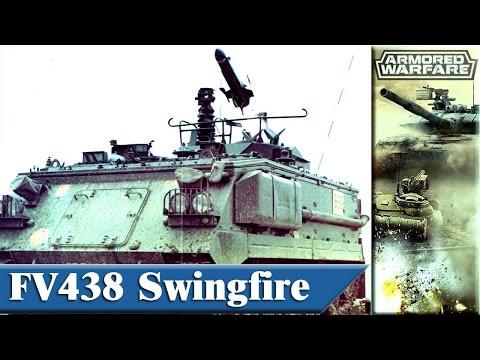 Armored Warfare FV438 Swingfire PvE e0005