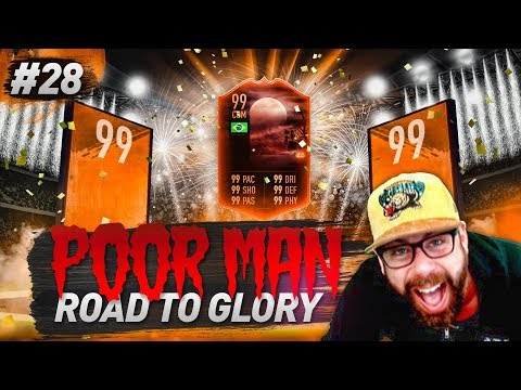 OMG I PACK THE MOST OP CDM IN FIFA!!! SO LUCKY! - POOR MAN ROAD TO GLORY #28 - FIFA 19 Ultimate Team