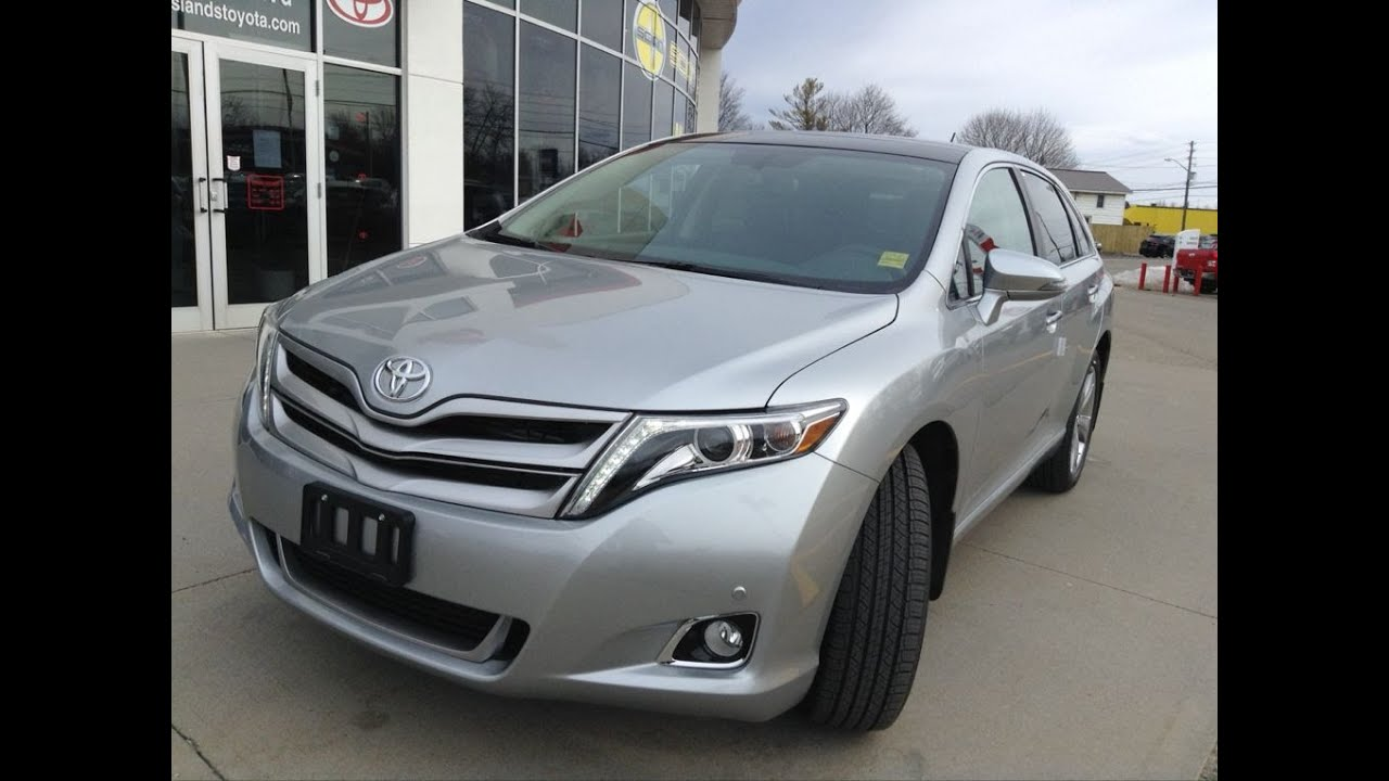 2016 Toyota Venza >> 2016 Toyota Venza V6 Awd Limited Review 1000 Islands Toyota