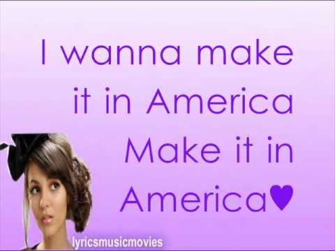 Victoria Justice - Make It In America (Lyrics On Screen ...