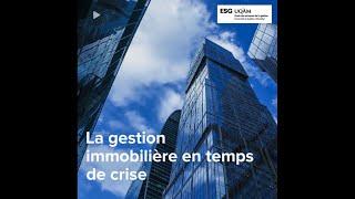 La gestion immobilière et la crise de la COVID-19