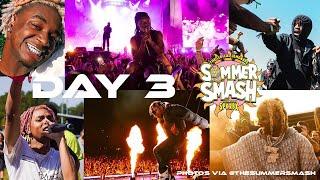 Lyrical Lemonade Summer Smash Day 3 Concerts lil Uzi, Don Toliver, Durk, SNOT, Ken Carson, SoFaygo