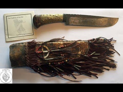 Frontier Native American Knife By Daniel Winkler