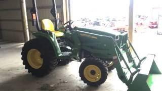 John Deere 3038E Compact Tractor Overview
