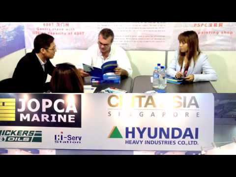 Cinta Asia - Exhibiting @ APM 2014 with JOPCA Marine Services