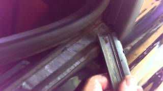 Replacing Quarter Window Weather Stripping Trim on the E46 BMW M3