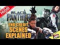 Black Panther End Credit Scenes [Explained In Hindi]