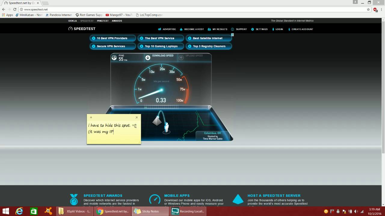 Frontier Speed Test >> Speed Test Why You Shouldnt Get Frontier Internet Youtube