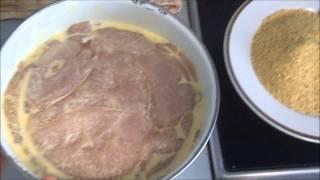 Как приготовить Куриное филе в сухарях