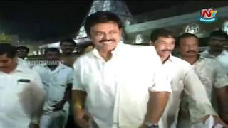 Venkatesh Visits Tirumala Temple   NTV Entertainment