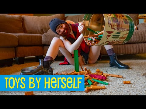 Like Legos But Wood And Worse AKA Lincoln Logs • Toys By Herself