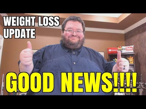 Weight Loss Update - GOOD NEWS!