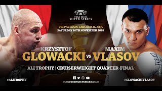 Glowacki vs Vlasov - WBSS Season 2 Cruiserweight QF4