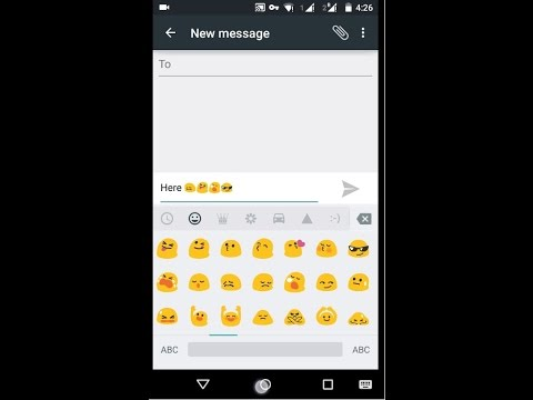 How To Get Emoji On Android Phones Without An Extra App