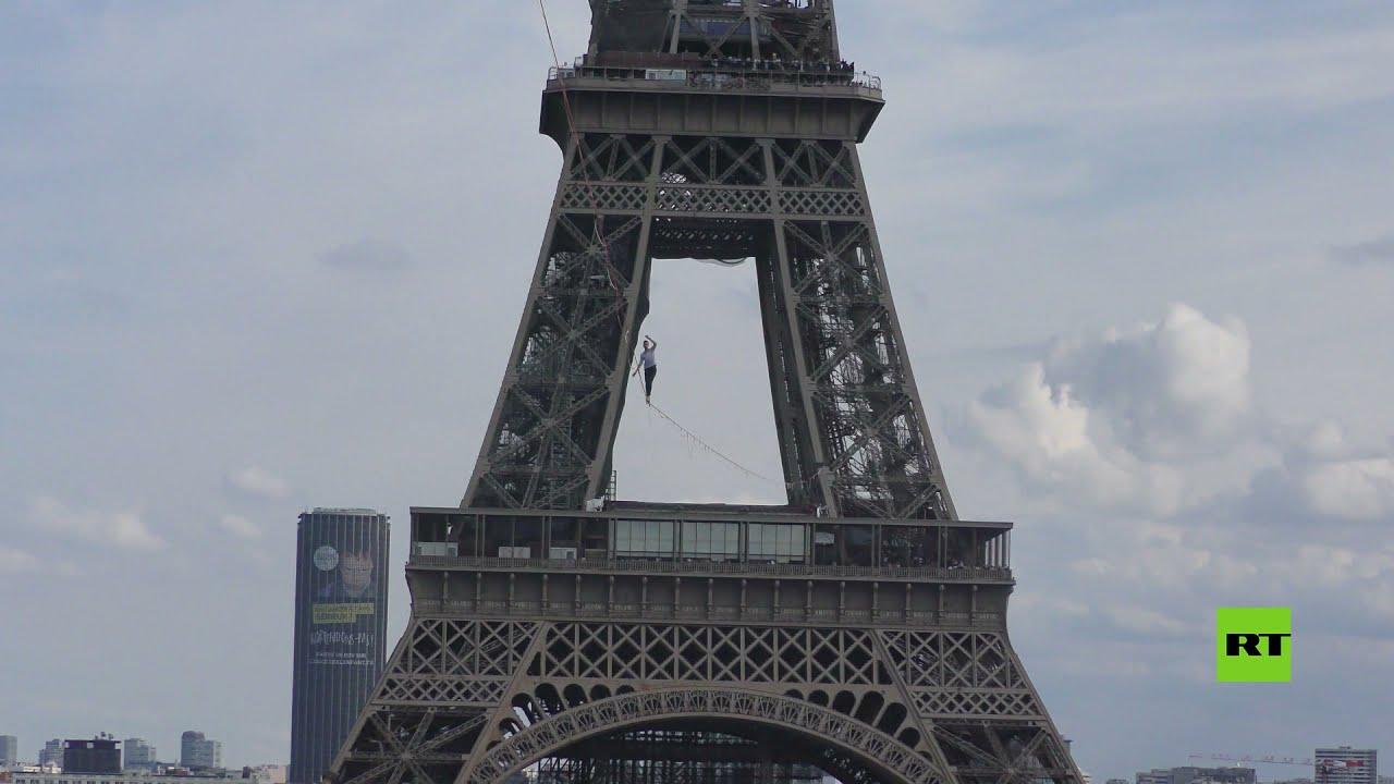 على ارتفاع 70 مترا.. مغامر فرنسي يقطع 670 مترا مشيا على الحبل وسط باريس  - نشر قبل 10 ساعة