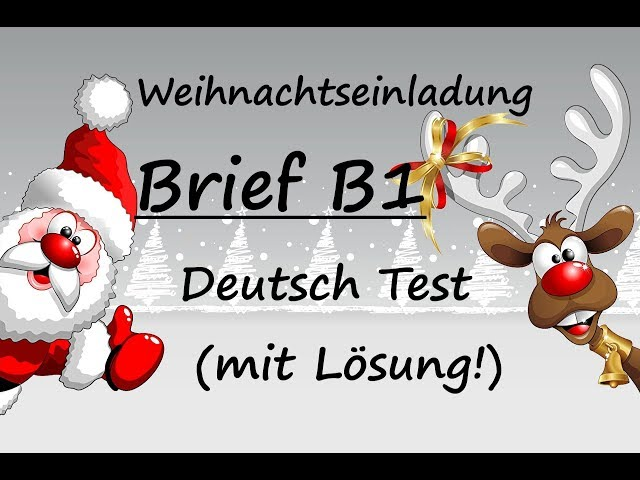 Deutsch Lernen Powered By German Deutschcom Brief Schreiben Deutsch