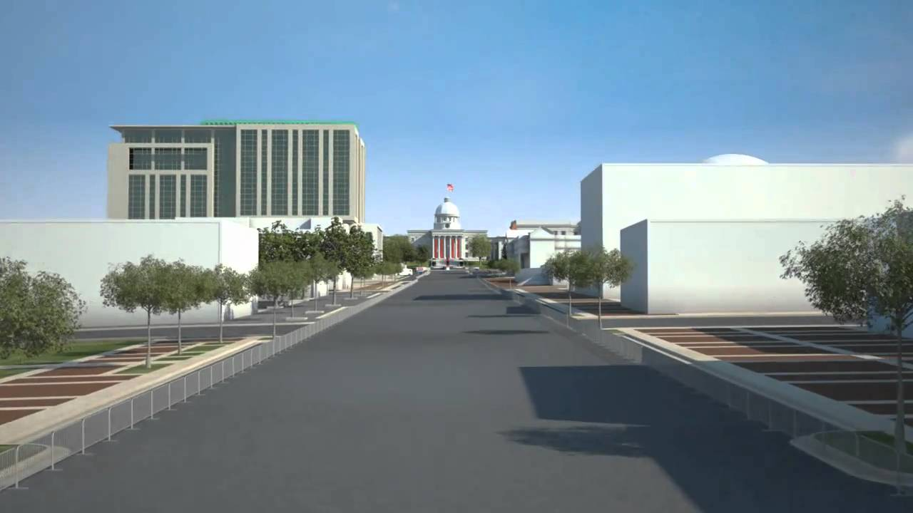 Downtown Montgomery Alabama Animation Video Youtube