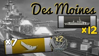 Cruiser HUNTER - Des Moines goes to work ! - World of Warships