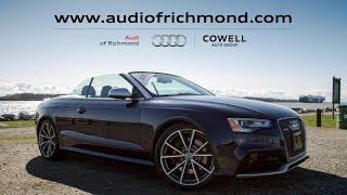 Test Drive Thursday: Audi RS 5 Cabriolet