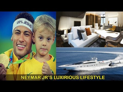 Neymar Jr Net Worth-Houses-Cars-Private Jet-Yacht-Biography-Family (wife,son) and Lifestyle