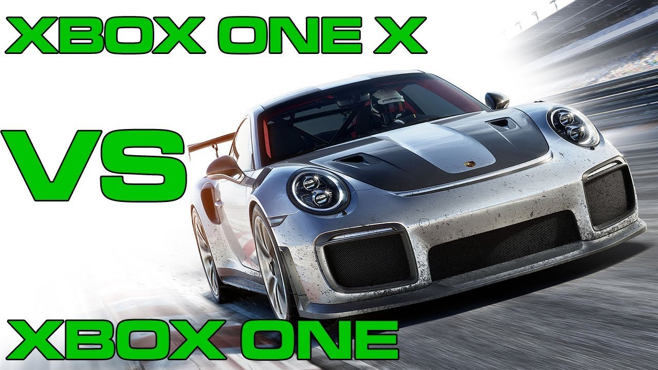 forza motorsport 7 on xbox one x vs xbox one standard. Black Bedroom Furniture Sets. Home Design Ideas