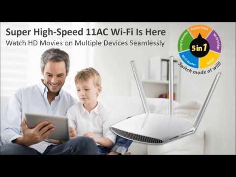EW-7208APC AC750 Multi-Function Dual-Band Access Point
