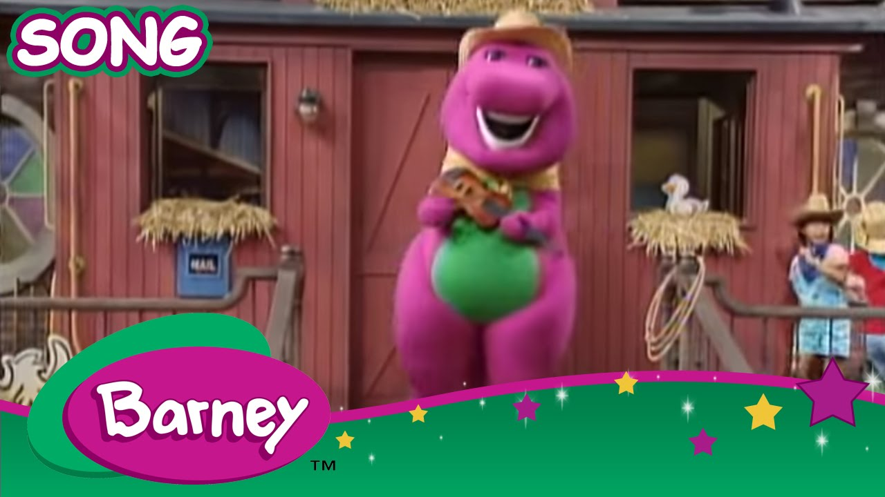 Barney Old Macdonald Live Action Song Youtube