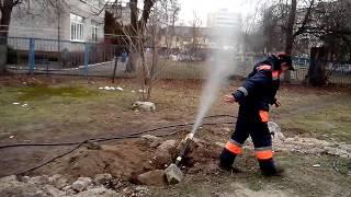 г.Светлый продувка газопровода(продувка газопровода., 2015-02-08T14:28:47.000Z)