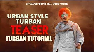 TEASER || PATIALASHAHI WATTAN WALI  PAGG || URBAN STYLE TURBAN TUTORIAL || feat : BIR RAMGARHIA