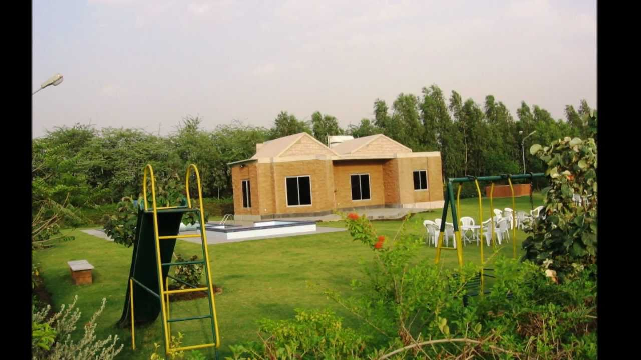 The Enclaves Farm House - YouTube for Farmhouse In Karachi Superhighway  45gtk