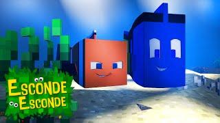 Minecraft: PROCURANDO NEMO - O FILME! (Esconde-Esconde)