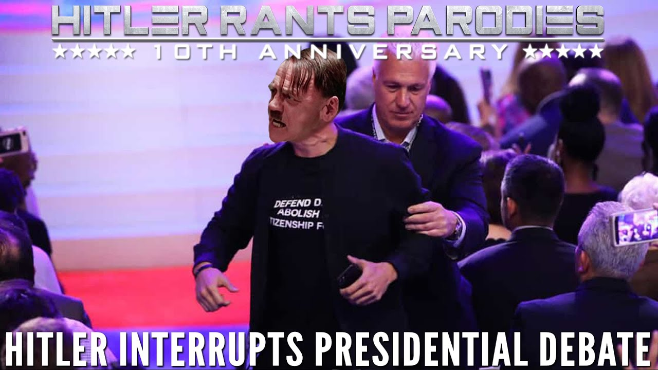 Hitler interrupts Presidential Debate