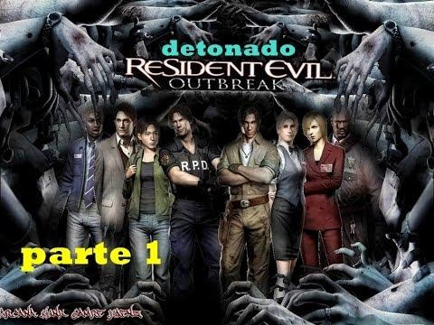 Detonado Resident Evil Outbreak file 1 legendado em espanhol